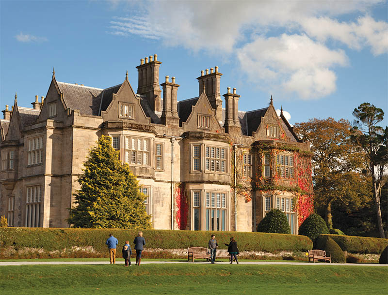 Muckross House, at the heart of Killarney National Park