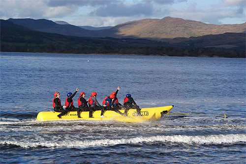 Banana Boating, Star Outdoors Kenmare